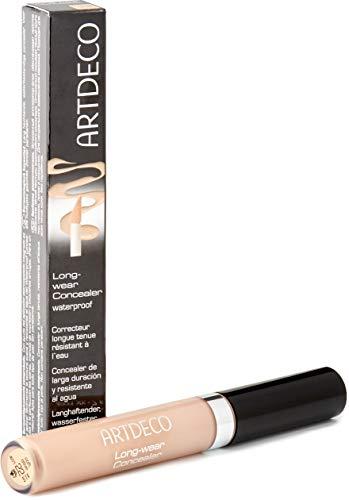ARTDECO Long-Wear Concealer, langhaltender Flüssig Concealer, Nr. 22, soft olive