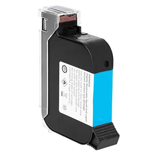 FTVOGUE Cartuchos de Tinta de Secado Rápido Negros para Impresora de InyeccióN de Tinta con Codificador de Fecha 530 Impresora de InyeccióN de Tinta Inteligente de Mano