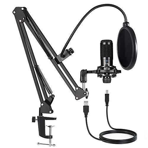 Professional Cardioid Microphone Bundle Kit