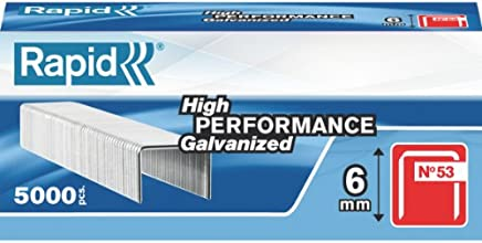 NEW High Performance Staples No.13 Leg Length 6 Mm 11830700 5000 Pieces Silver G