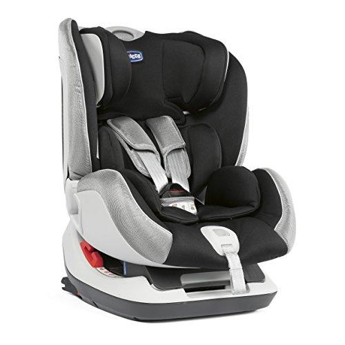 Chicco Seat Up 012 Siège Auto Bébé Inclinable 0-25 kg ISOFIX, Groupes 0+/1/2 pour Enfants de 0 à 6 Ans, Facile à Installer, avec Coussin Réducteur, Appui-tête Réglable et Rembourrage Souple