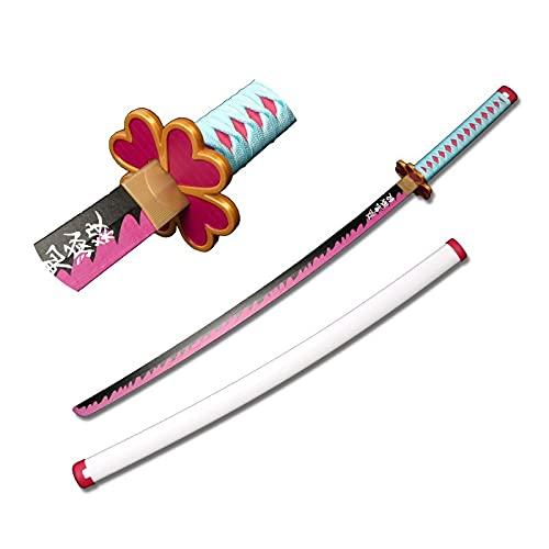 MOMAMOM Demon Slayer Cosplay Katanas Blade Samurai Sword Weapon Prop Anime Ninja Sword Toys Katana Japonesa Espada Bambú Samurái Sword Blade 104Cm