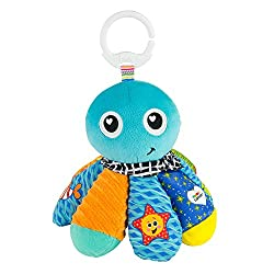 CUDDLY SOFT TOY - Salty Sam features a soft velour body that's ideal for cuddling and encourage tactile stimulation. With lots to see, hear and touch your baby will never get bored! BABY SENSORY TOY - This baby soft toy features surprise crinkle soun...
