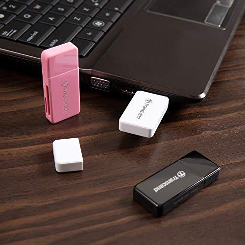Transcend USB 3.1 Gen 1 Lettore di Schede Multifunzionale TS-RDF5K