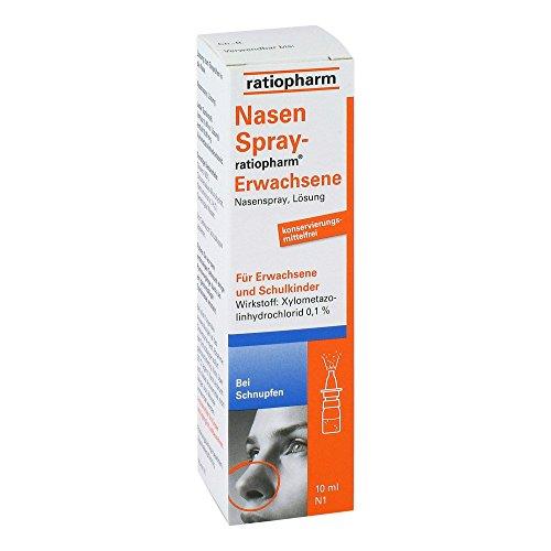 NasenSpray-ratiopharm Erwachsene, 10 ml Lösung