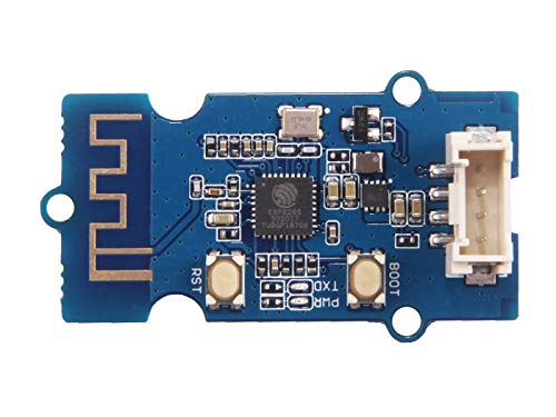 seeed studio Grove 125KHz EM4100 RFID Reader Module UART Interface(UART/Wiegand Output) 4.75V~5.25V Open Source, 7cm High Sensitivity Access Control System Compatible with Board Arduino/Seeeduino