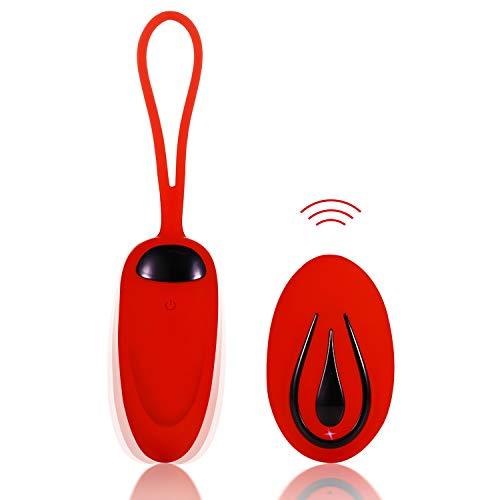 Massaggiatore Wireless, Telecomando 12m, USB Ricaricabile, Impermeabile, 12 Modalità