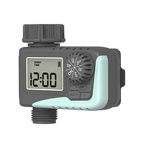 xxffyy Temporizador de Grifo, Equipo de riego automático, temporizadores Digitales de Manguera de Agua, Sistema de riego de Inteligencia Digital LCD Impermeable