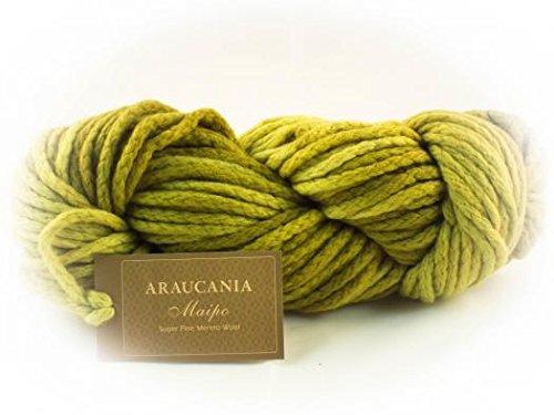 PT1957 Araucania Maipo 100/% Wool Super Chunky Knitting Yarn 100g Hank