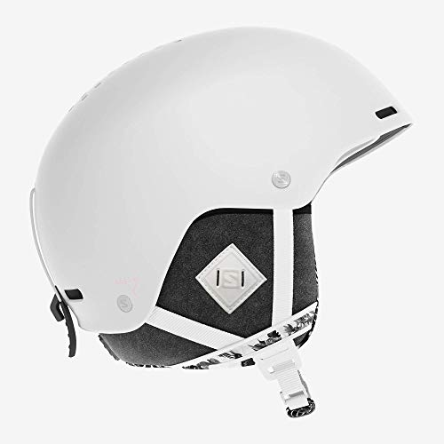 Salomon Damen Ski- und Snowboardhelm, ABS-Schale, SMART-Technologie, Größe M, Kopfumfang 56-59 cm,...