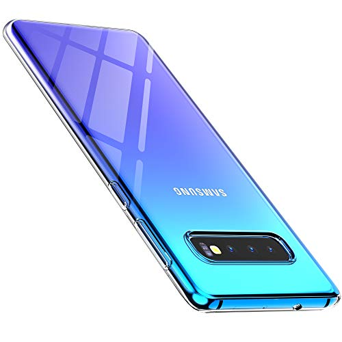anccer Compatible for Samsung Galaxy S10 Plus Case Crystal Clear Shock Absorption TPU Rubber Gel Case for Galaxy S10+ (Clear)