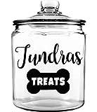 Personalized Pet Treat Jar - Dog Treat Jar - Custom Pet Treat Jar - Personalized Treat Jar - Dog Gift - Puppy Gift - Dog Bone Jar