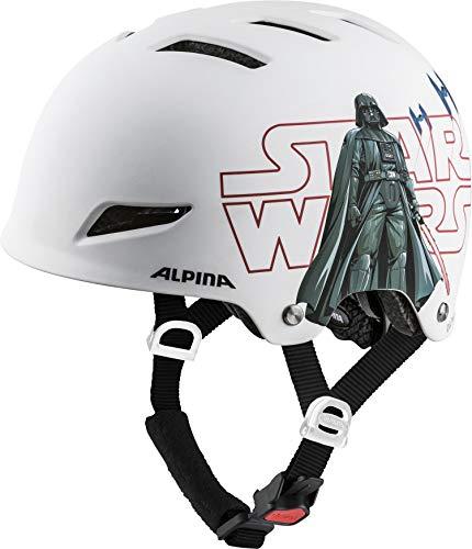 ALPINA Unisex - Kinder, PARK JR. Fahrradhelm, Star-Wars white, 51-55 cm
