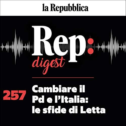 Couverture de Cambiare il Pd e l'Italia - le sfide di Letta