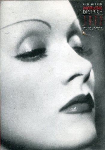 An Evening with Marlene Dietrich: 1972, New London Theatre, England
