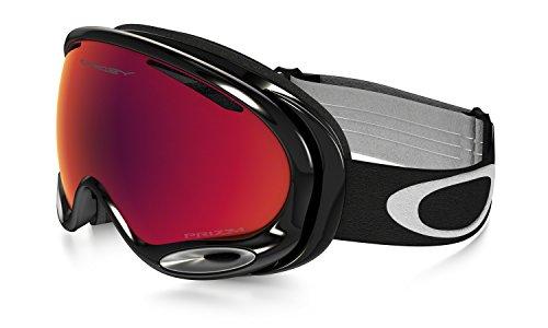 Oakley A-Frame 2.0 Masque de Ski Mixte Adulte, Jet Black/Prizm Torch Iridium, 99