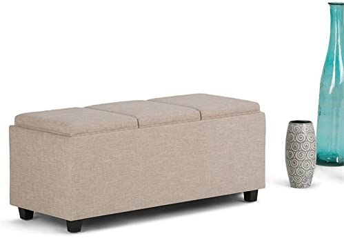 Max 60% Classic OFF Atlin Designs Storage Natural Bench in