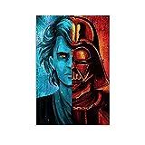 QWDA Star Wars Quadros Anakin Skywalker Poster, dekoratives