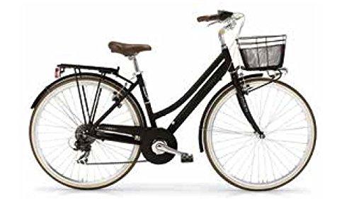 MBM Boulevard 835D/18, Bicicletta Donna, (Nero A01), Taglia Unica