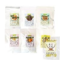 レトルト 惣菜 おかず 野菜 煮物 6種 詰め合わせ 国産乾燥野菜 セット