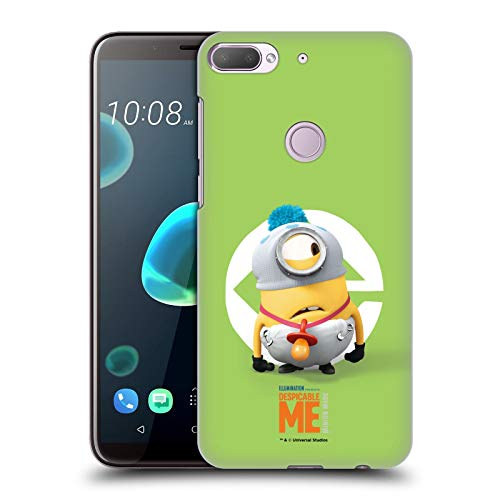 Officiële Despicable Me Stuart Baby Kostuum Minions Hard Back Case Compatibel voor HTC Desire 12 Plus