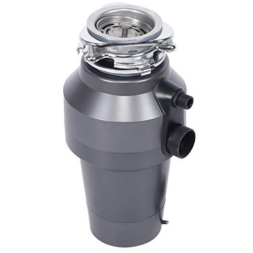AYNEFY Trituradora de basura, 1,2 l, 560 W, disipador de residuos orgánicos para casa bajo el fregadero (UE)