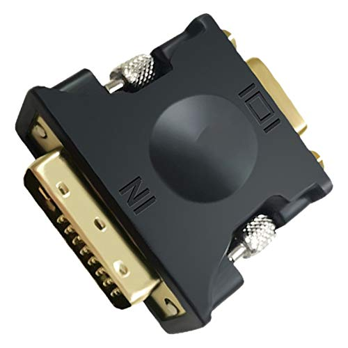 Mogzank 13074 Adaptador, Convertidor DVI24 + 1 una VGA Adaptador de Tarjeta de Imagen de SeeAl Digital una AnalóGica