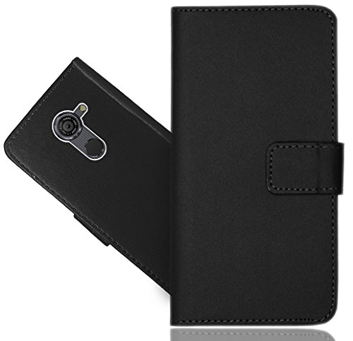 FoneExpert® Vodafone Smart Platinum 7 Handy Tasche, Wallet Case Flip Cover Hüllen Etui Hülle Ledertasche Lederhülle Schutzhülle Für Vodafone Smart Platinum 7