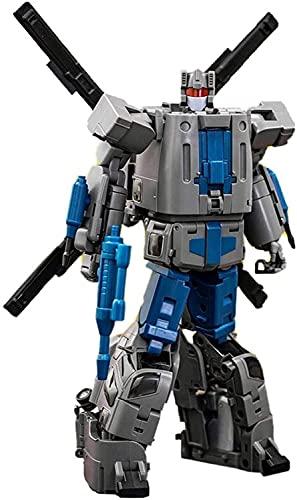 Transformers Kingdom Transformers Model Toys, Lensple MMC Figura de acción de transformación Robot Juguetes para el regalo 2 0CM Max ocular OX PS-13 Vortex G1 Bruticus, el regalo favorito del niño Fig