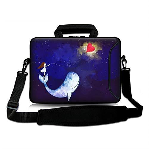 Yinghao Computer tas met schouderriem laptop tas voor meisjes vrouwen 17 15 13 14 10inch tablet zakken cover voor xiaomi pro/pk/lenovo/asus 10-inch Walvis