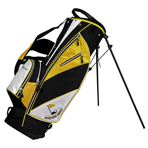 Golf Stand Bag, Walking-Golftasche, Ultraleicht Perfekt zum Tragen auf dem Golfplatz. Mit Zwei Gurten zum einfachen Tragen der Golftasche