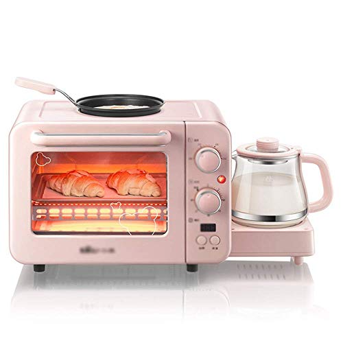 LITING Grille-Pain Petit-déjeuner Multipot Mini Four et Grill Four électrique Poêle à air Chaud Ménage Micro-Ondes Contrôle de température réglable