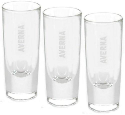 6 original Averna Gläser WHITE LABEL - Averna Glas - Gastro Edition