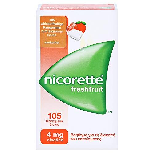 nicorette Kaugummi freshfruit 4 mg Reimport Kohlpharma, 105 St. Kaugummi