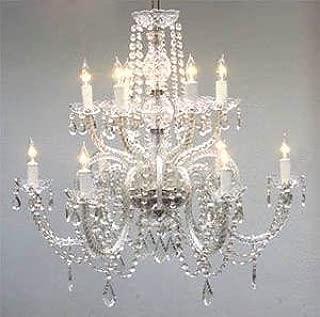 Chandelier Lighting Crystal Chandeliers H27