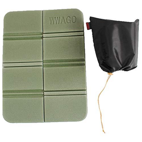 PENVEAT New XPE 8cartella, da campeggio pieghevole portatile piccolo cuscino idrorepellente impermeabile contro sporco picnic Mat Beach Pad