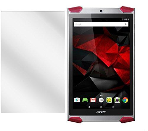 dipos I 2X Schutzfolie klar kompatibel mit Acer Predator 8 Folie Bildschirmschutzfolie