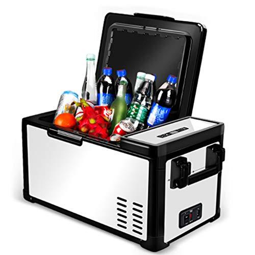 Refrigerador para Automóvil 12V24V Refrigerador para Automóvil Y Hogar De Doble Propósito, RV, Yate, Congelación Y Refrigeración, Mini Refrigeradores