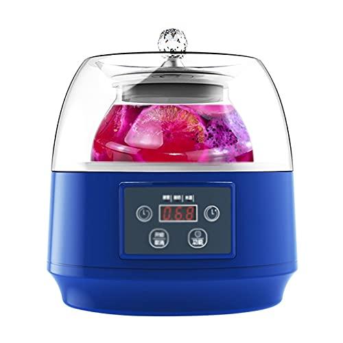 CHENSHJI Máquina para Hacer Yogurt Hogar Automático Pequeño Yogurt Arroz Vino Fruta Queso Vinagre Que Hace La Máquina (Color : Azul, Size : 21x21x24cm)