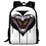 Lawenp Ace Joker Hip Hop - Mochila Unisex para Adultos para la Escuela, Viajes, al Aire Libre,