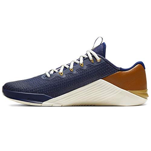 Nike Metcon 5 Amp Cj0772-461 - Scarpe da allenamento da uomo, blu (Blue Void/Gym Rosso-vela-polline Aumento), 41 EU