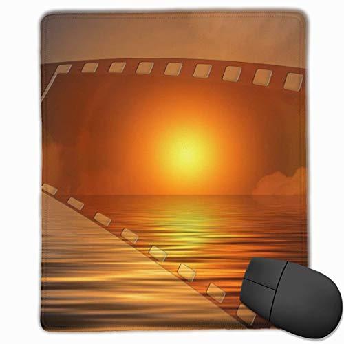 Tragbare Gaming-Mauspad-Folie Sonnenlicht Komfortable rutschfeste Basis Langlebige genähte Kanten für Laptops
