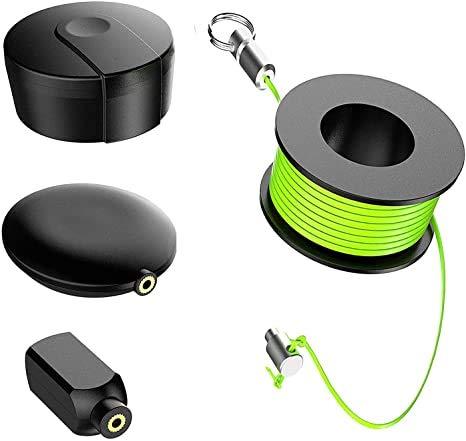 Wiremag Puller Set Kabeleinziehhilfe Magnet Einziehband Magnet Kabelziehstrumpf Set Kabel Einzugshilfe Magnetisch Das Perfekte Geschenk Fur Mann/Vater