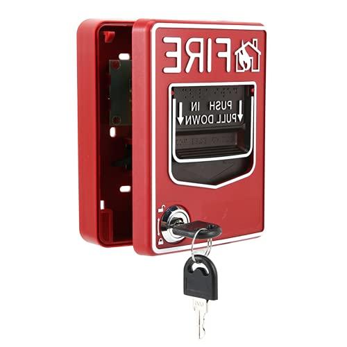 Pulsador De Llamada Manual, Botón De Alarma De Incendio Adecuado para Alarmas Sonoras Y Luminosas Cuando Se Produce Un Incendio Pulsador De Llamada Manual Convencional para Incendios