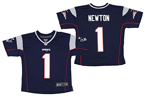 Nike Boys NFL Game Team Jersey Newton CAM Size BS4