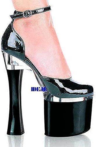 Modèle de 20 cm de talon de chaussures,blanc