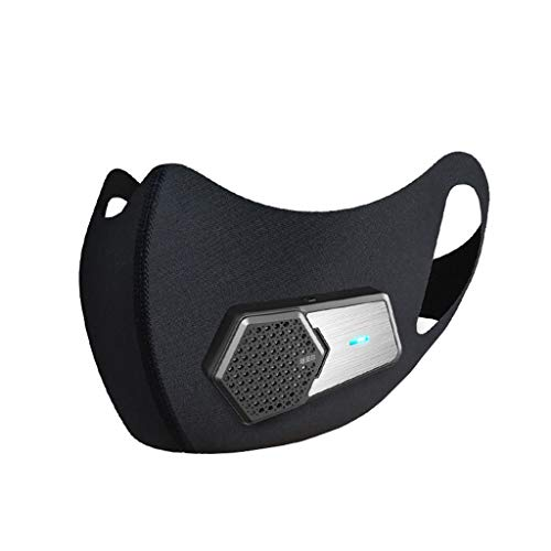 MTENG Smart Electric Air With Compound Filter 5 Black Anti-pollution Face