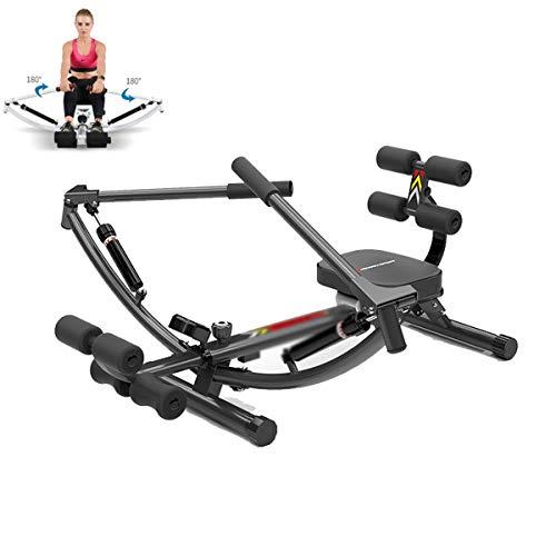 Stoge Inizio Vogatore |Resistenza Regolabile |Liscio e Full-Motion a Remi Corsa |Monitor LCD |Compact for la casa Workout |Cardio Workout