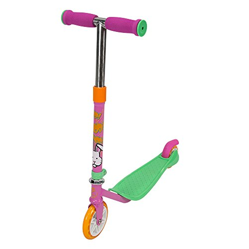 Zycom Mini Animal Friends with Light Up Wheels Scooter, Pink
