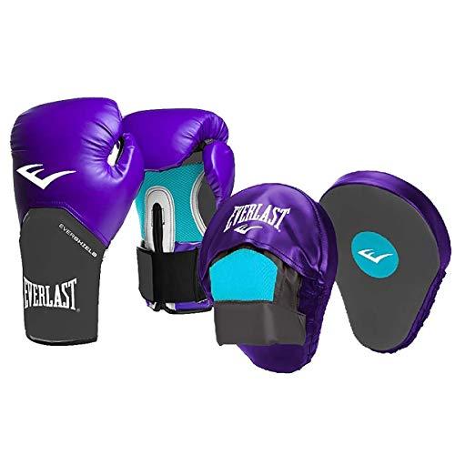 Kit de Boxeo Femenino; Guantes de Boxeo y Patas de Oso